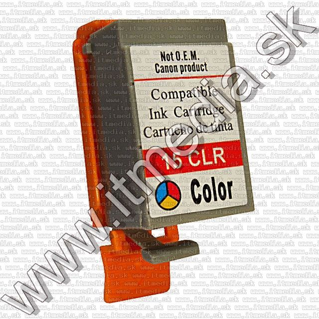 Image of Canon ink (itmedia) BCI-15 color (BCI-16) (IT0688)