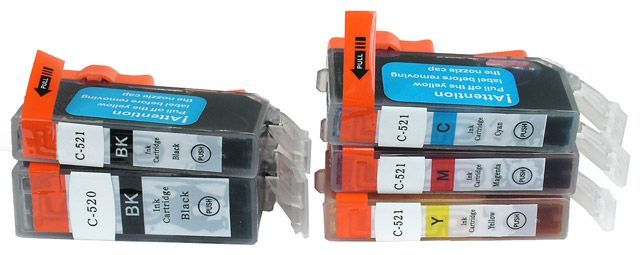 Image of Canon ink (itmedia) ***IP4600-IP4700 MULTIPACK*** *CHIP* ECO 520-521 (IT5212)