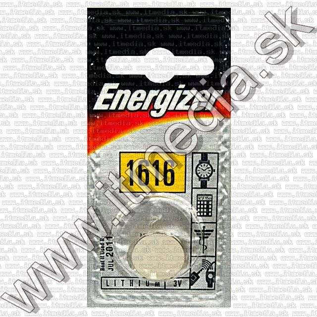 Image of Energizer Button Battery CR1616 *Lithium* (IT3601)