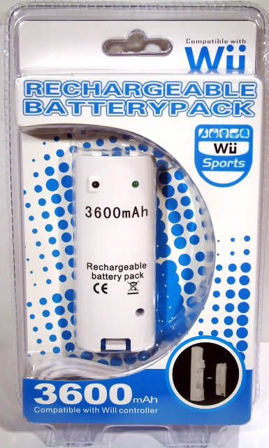 Image of Nintendo WII Battery Pack (compatible) (IT1947)