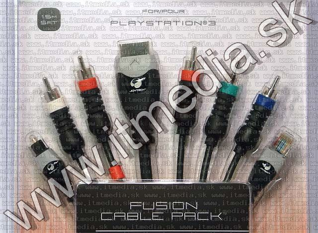 Image of Playstation 3 (PS-3) Fusion Cable PACK 1.5m (IT4901)