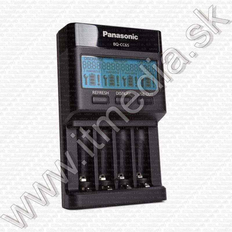 Image of Panasonic EneloopBattery Charger BQ-CC65 LCD Smart (IT13469)