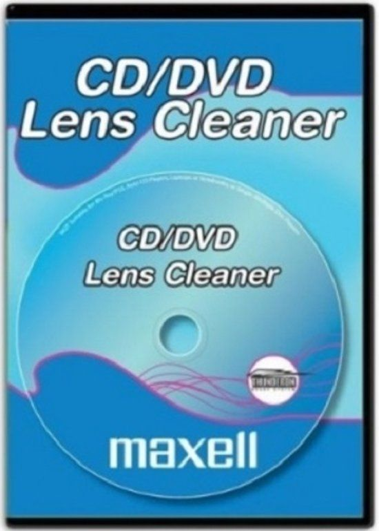 Image of Maxell CD-DVD laser lens Cleaner (IT9576)