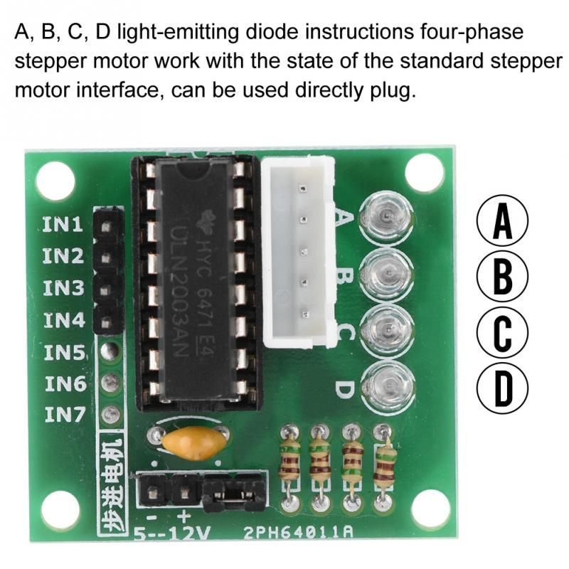 Image of Stepper Motor Driver panel (arduino) uln2003 (IT13206)