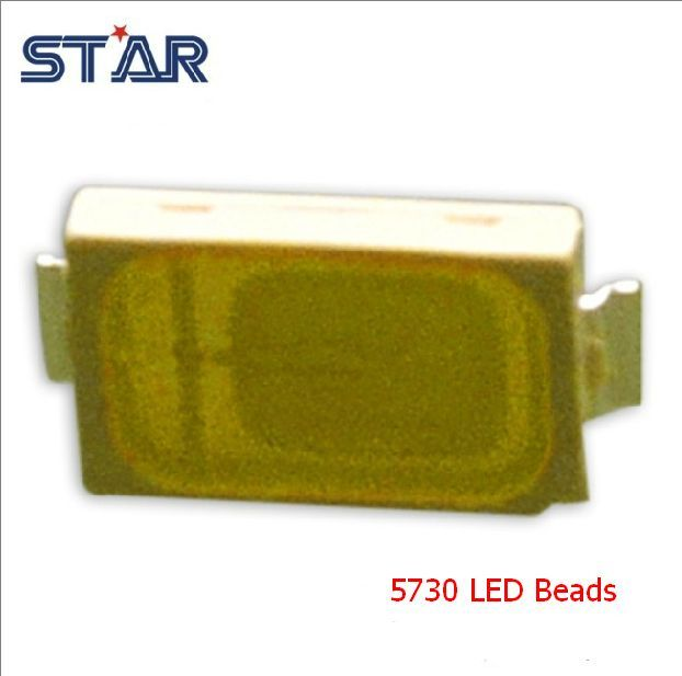 Image of LED Lamp Diode (chip) *SMD* 5730 Warm White 40Lumen 0.5W 3000K (IT10029)