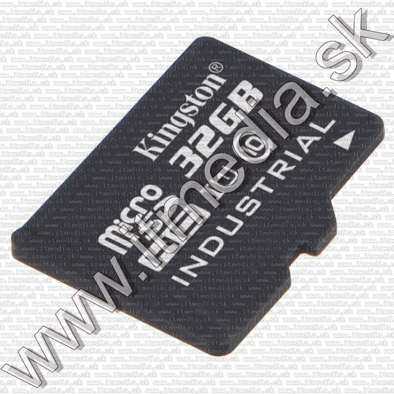 Image of Kingston microSD-HC kártya 32GB UHS-I U1 Industrial SDCIT/32GB + adapter (90/45 MBps) (IT12085)