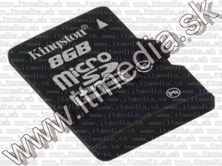 Image of Kingston microSD-HC kártya 8GB Class4 adapter nélkül! (IT11555)