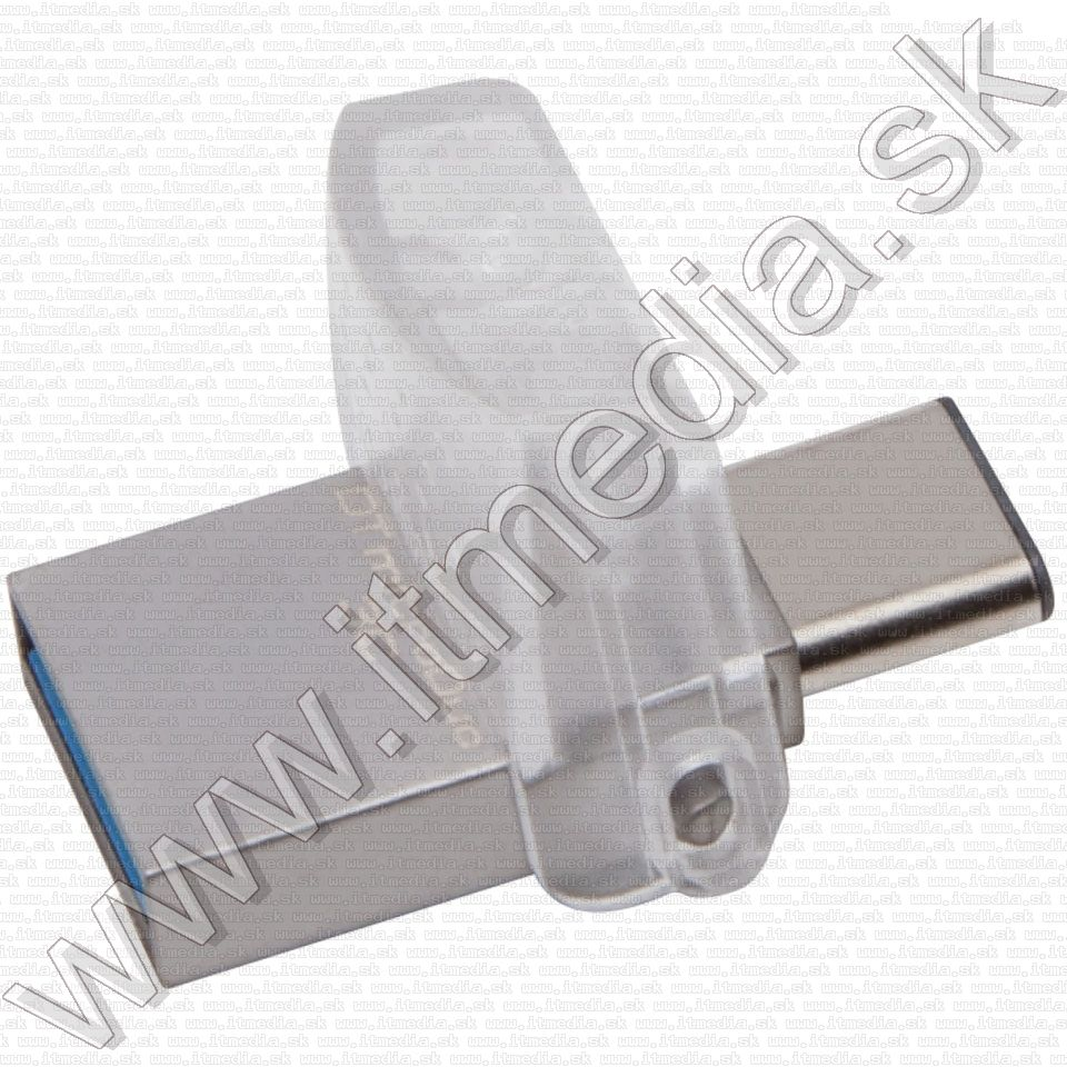 Image of Kingston USB 3.0 pendrive 64GB *DT microDUO 3.0* *USB + USB-C* (100/15MBps) (IT11934)