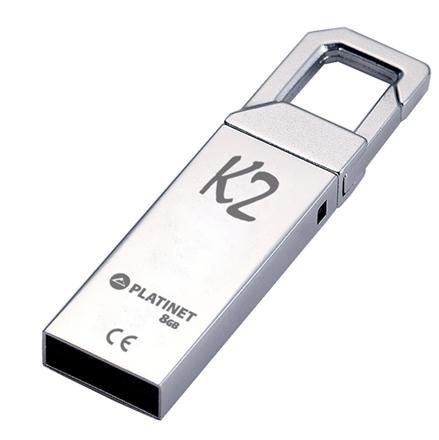 Image of Platinet USB pendrive 64GB G-Depo (44991) *METAL* Mountain K2 [18R10W] (IT14145)